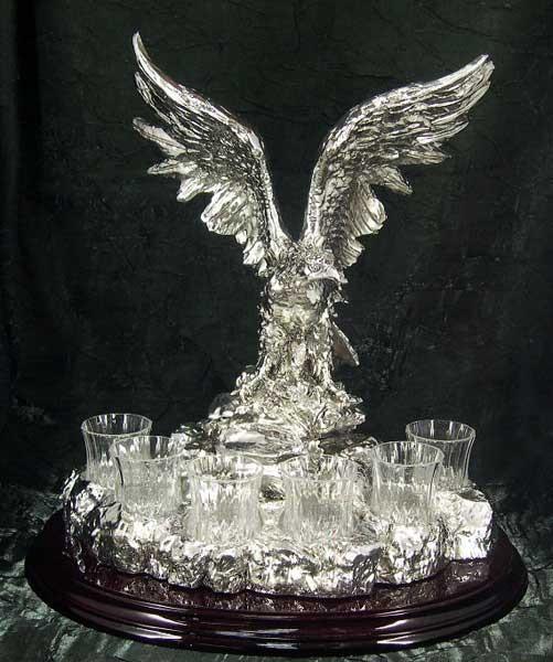 Подарочный набор для крепких напитков Гордый орёл