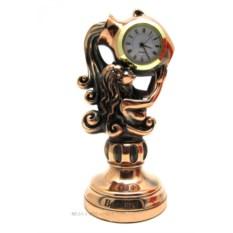 Статуэтка с часами Водолей (19 см)
