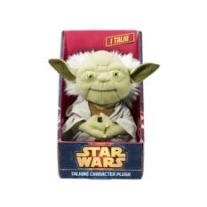 Мягкая игрушка StarWars Звездные войны. Йода со звуком
