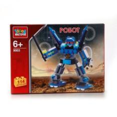Пластмассовый конструктор Робот