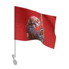 Флаг для автомобиля Череп