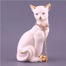 Фигурка Кошка с цепочкой