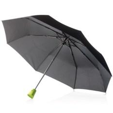 Зонт-автомат Brolly, черный/зеленый
