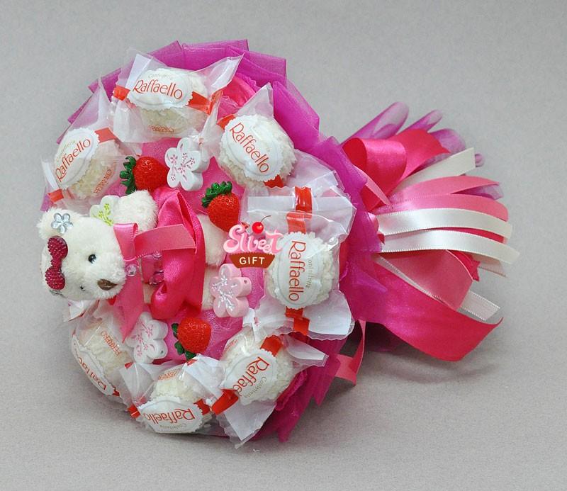 Маленькие подарки с конфетами