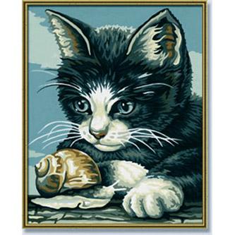 Раскраска «Котёнок»