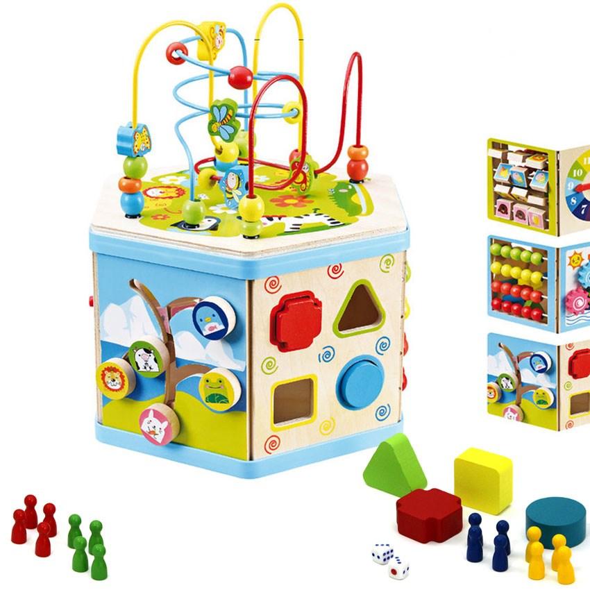 Развивающий куб для детей до года