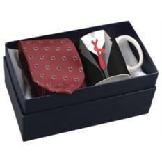 Набор из чашки и галстука Утро джентльмена