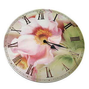 Часы-ретро «Цветок»