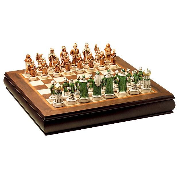 Шахматы подарочные «Битва под Казанью» Giglio