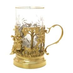 Позолоченный чайный набор Близнецы