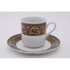 Набор чашек 0,15 л с блюдцем Leander Сабина 31035