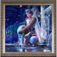 Красивый портрет для женщины-водолея