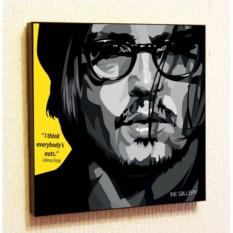 Картина в стиле поп-арт Джонни Депп