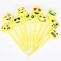Плюшевые шариковые ручки Emoji