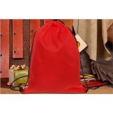 Красный мешок для обуви