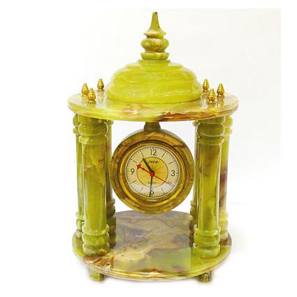 Настольные каменные часы «Большая беседка»
