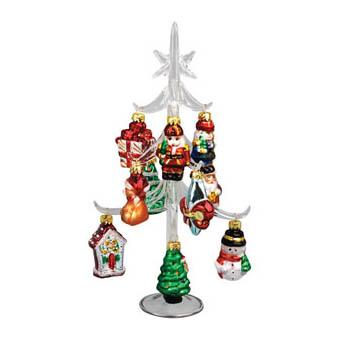 Новогодняя ёлка с комплектом из 12 игрушек