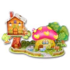 Пазл Mini Zilipoo Грибной домик