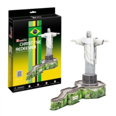3D пазл Cubic Fun Статуя Христа-Искупителя (Бразилия)