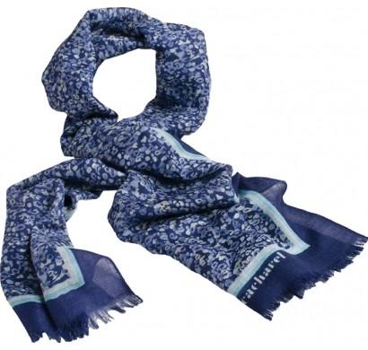 Шарф шерстяной Giverny Blue