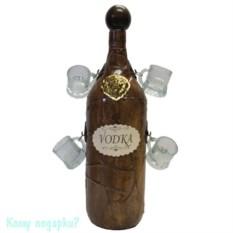 Бутыль для водки с 4 рюмками