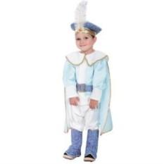 Детский карнавальный костюм Принц в голубом