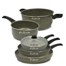 Набор посуды Alma Granitika (6 предметов)