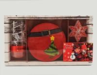 Новогодний подарочный набор (красный)