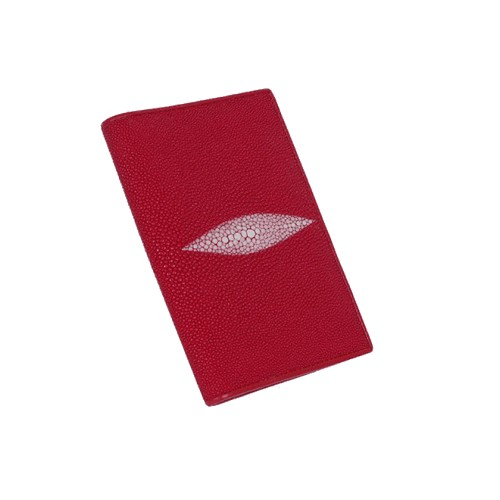 Обложка для паспорта из кожи ската