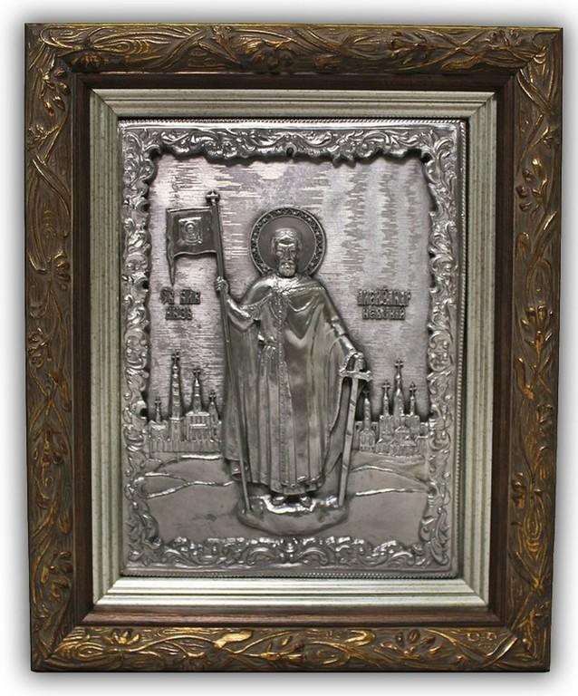 Средняя икона Александр Невский