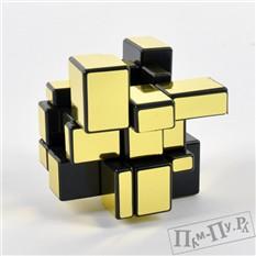 Кубик Кривое зеркало Золотой