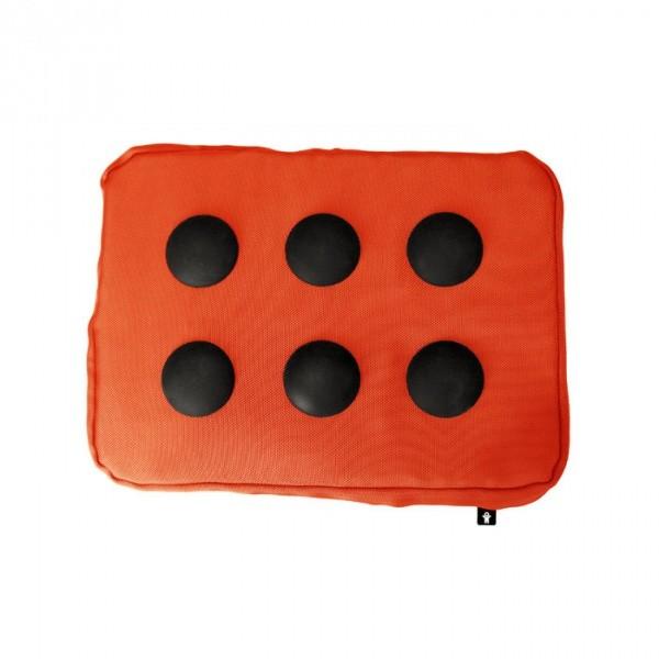 Подставка для ноутбука Surfpillow Hightech оранжевая/черная