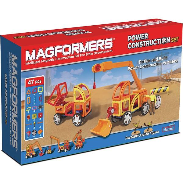Конструктор Magformers Power Construction Set