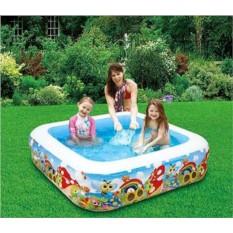 Надувной квадратный бассейн Жуки в саду Summer Escapes