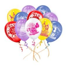 Облако из 50 латексных шаров С днем Рождения!