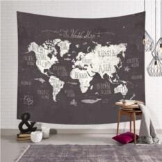 Декоративное панно на стену Карта Мира