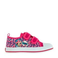 Ярко-розовые кеды на липучках для девочек My Little Pony