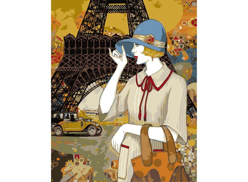 Картины по номерам «Парижские приключения Хелены Лам»