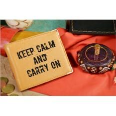 Кожаный портмоне с надписью Шрифт 38964