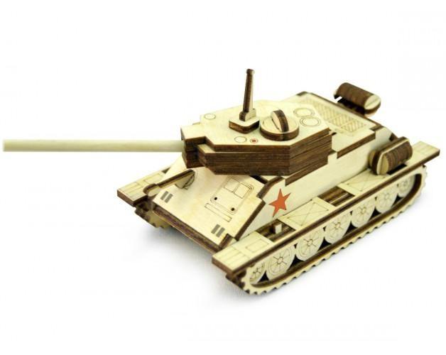 3D конструктор Танк Т-34