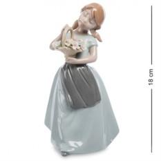 Фигурка Девочка с корзинкой (Pavone)