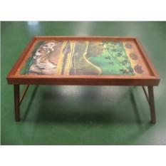 Столик для завтрака в кровати Глаз тигра