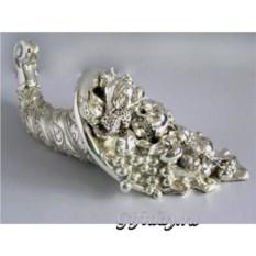 Серебряная статуэтка Рог изобилия