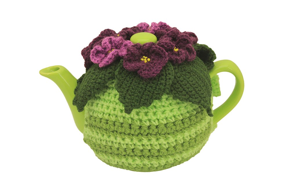 Декоративный чайник «Фиалковый»