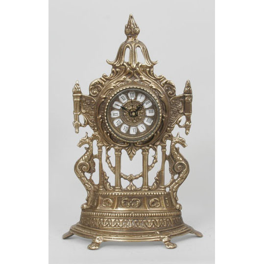 Часы  из бронзы Virtus  «Половинки с драконами»