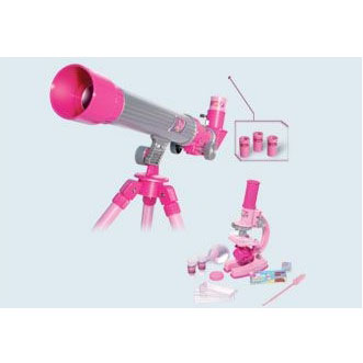 Телескоп и микроскоп детские