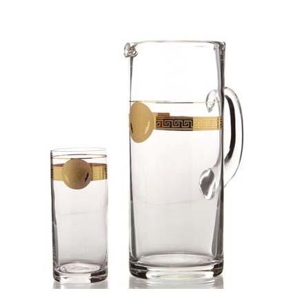Кувшин и стаканы для воды и сока «Медуза»