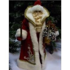 Большая игрушка Дед Мороз из ткани