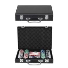 Набор для покера Leather Black