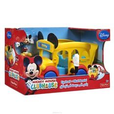 Игровой набор Mickey Mouse Школьный автобус